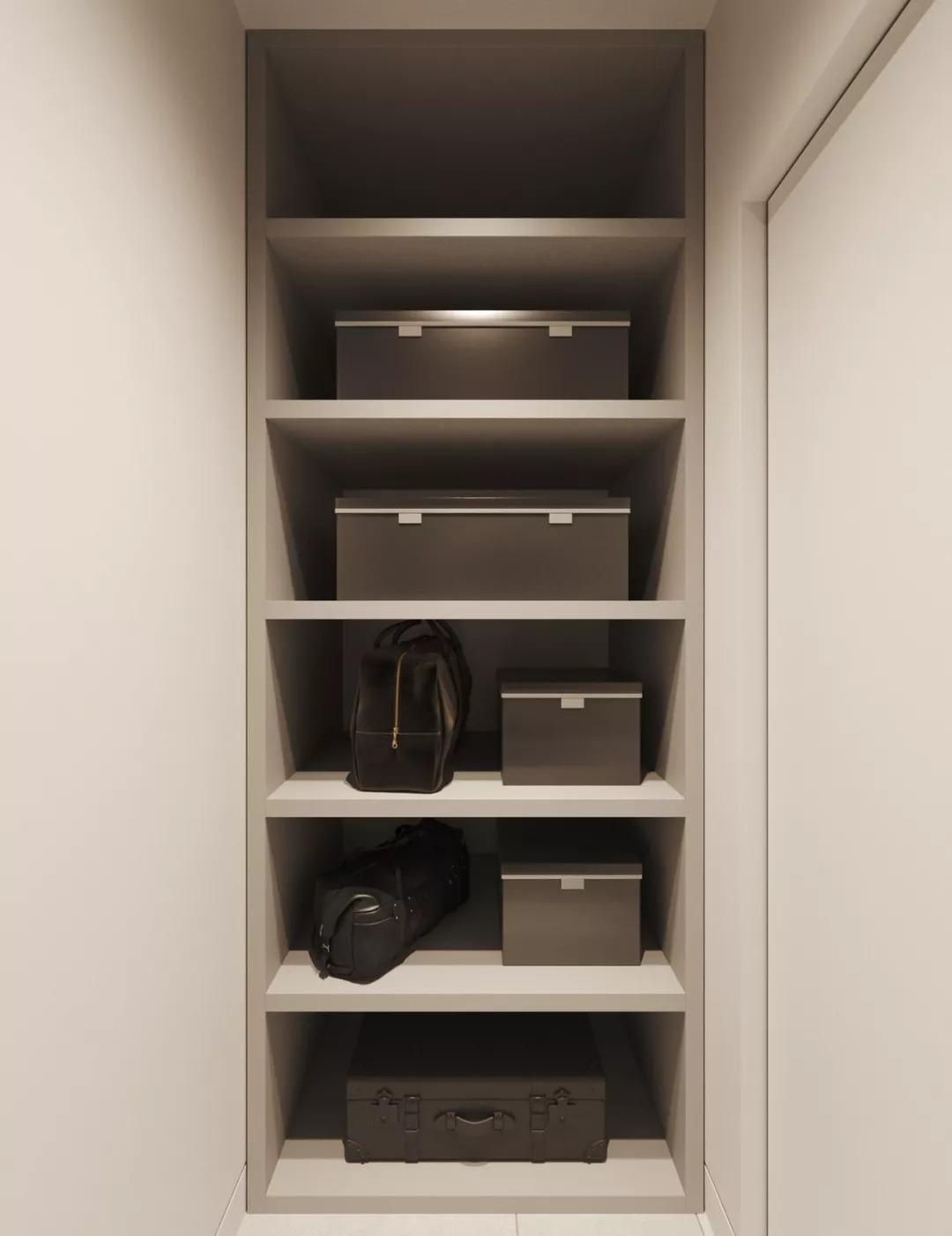 灰色系現代簡約家裝風格效果