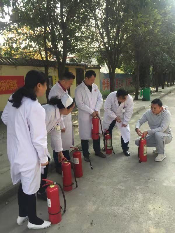 创造安全和谐的医院环境 驻马店民生医院开展冬季消防演练