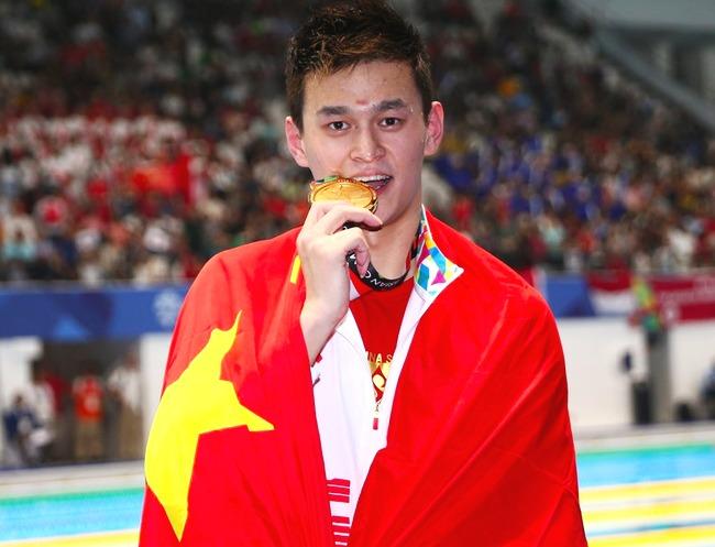 孙杨获环太平洋地区最佳游泳运动员 8年内第5次当选