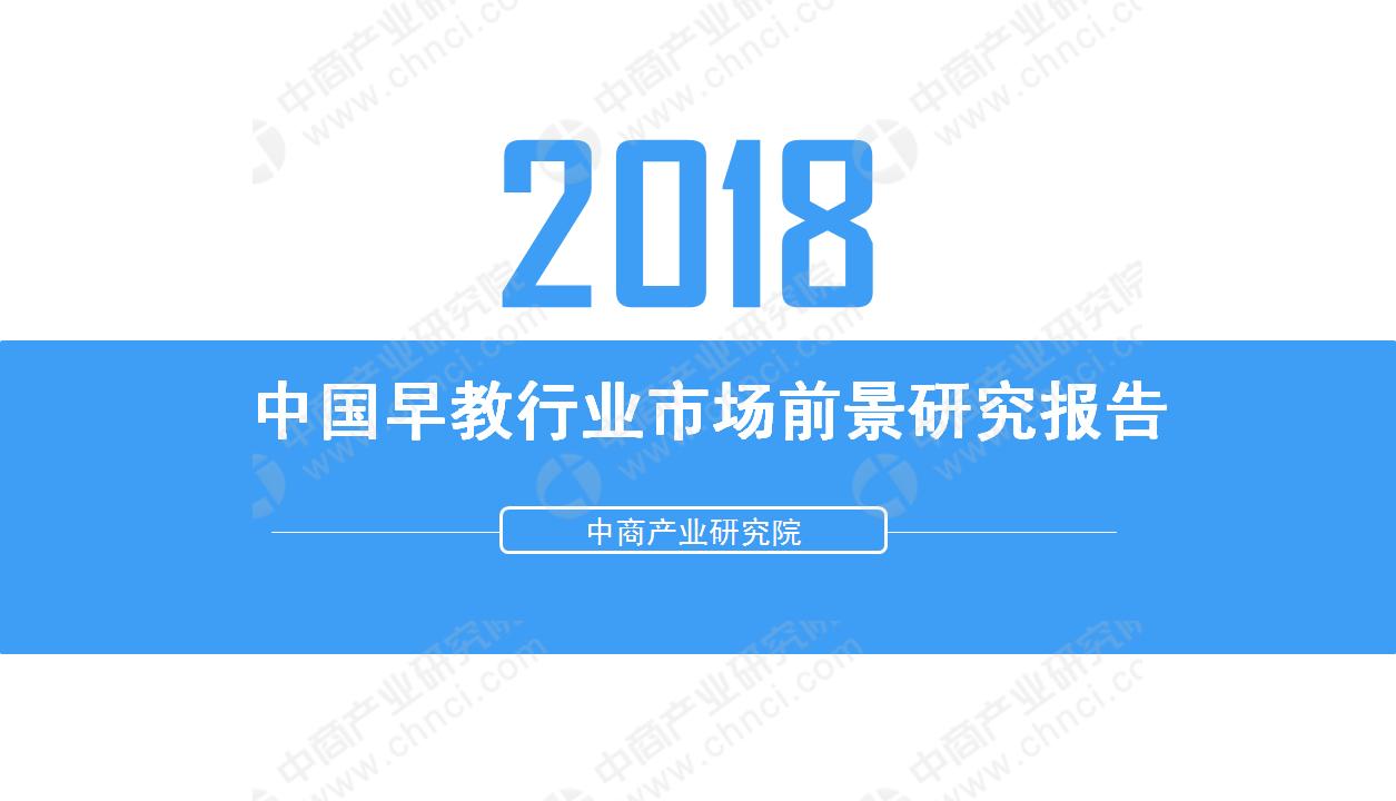 2018年中國早教行業市場前景研究報告