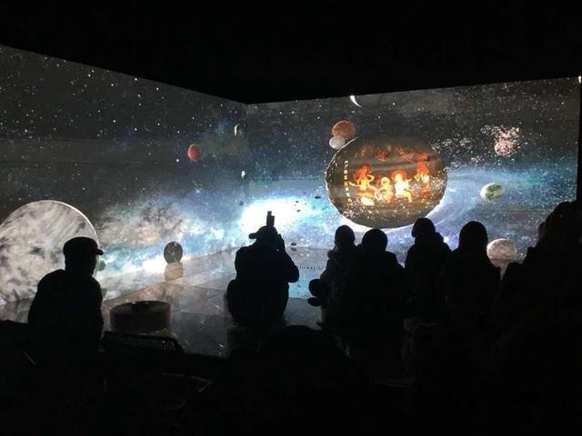 """""""驚鴻之殿--沉浸式影像空間展""""跨年首秀"""