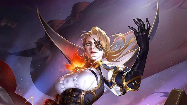 王者荣耀:钢铁直女米莱迪地毯式轰炸追击,推塔流出装玩法教程