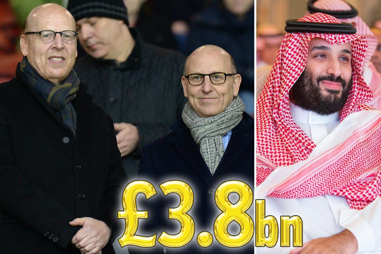 曝沙特王储今夏38亿镑收购曼联!若曼联无