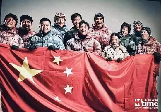 吴京《攀登者》新剧照流出!胡歌加盟 演绎珠峰登山队英雄故事