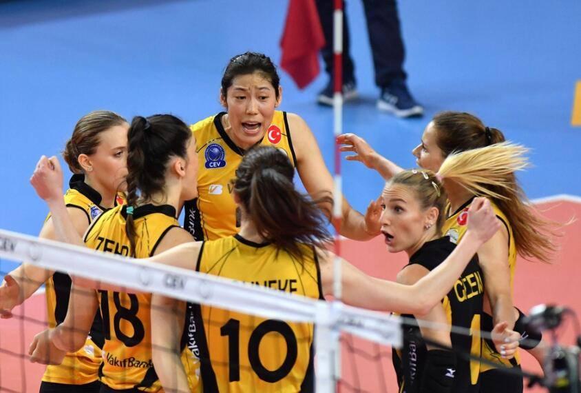 朱婷率队造神奇逆转!瓦基弗银行3-0俄超冠军,晋级女排欧冠四强