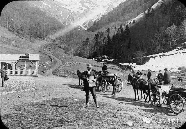 老照片:100多年前法国(农村)