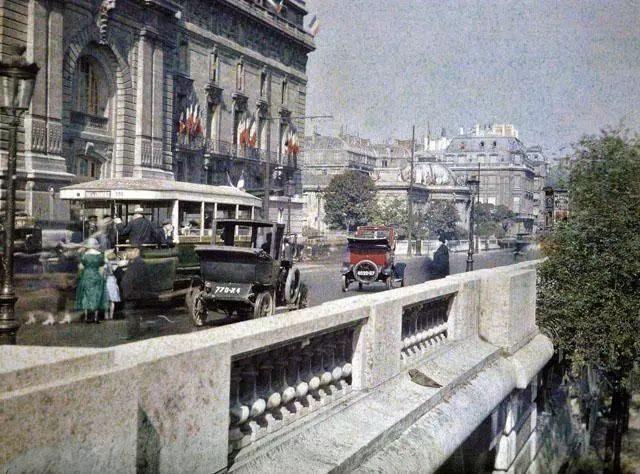 老照片:100多年前的法国(城市)