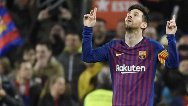 淘汰赛进球率低?梅西欧冠迎破荒之战,用进