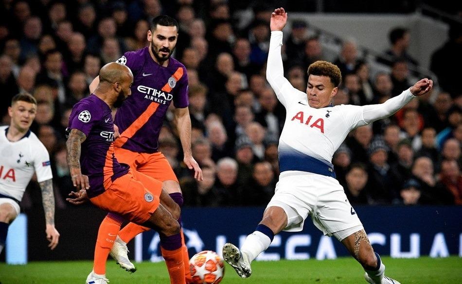 欧冠四分之一决赛:曼城失点不敌热刺,利物浦2球取胜占得先机!