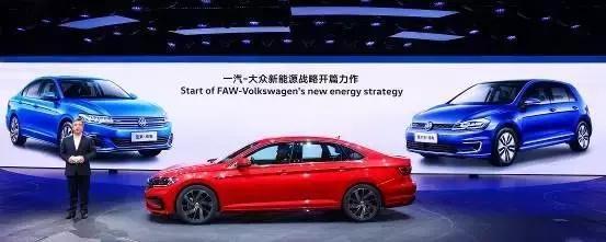 全新速腾L领衔,高尔夫纯电助阵,一汽-大众今年将推8款全新车型