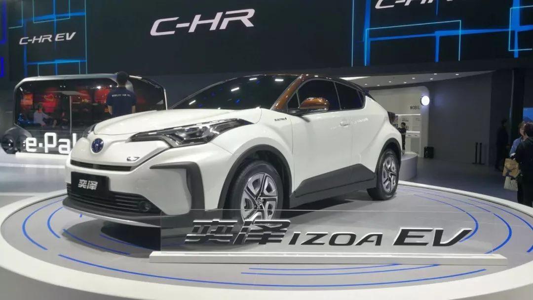 【上海车展】EV 量产车型首秀,丰田新产品阵营齐聚上海车展