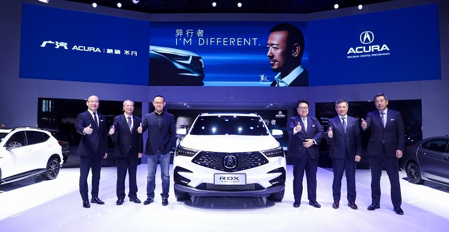 运动豪华品牌极致先锋座驾 广汽Acura携多款车型惊艳亮相上海车展
