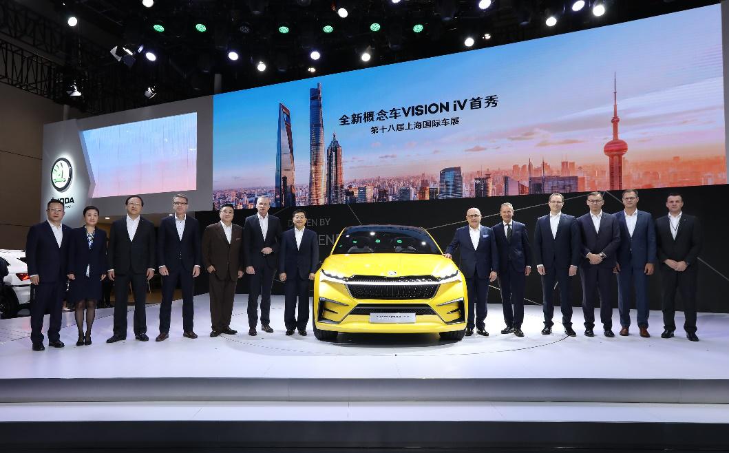 不仅携多款车型亮相上海车展,斯柯达还透露了未来规划