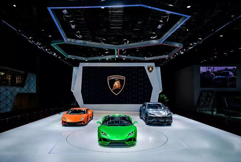 兰博基尼携全系车型震撼登陆2019上海车展 演绎品牌极致魅力