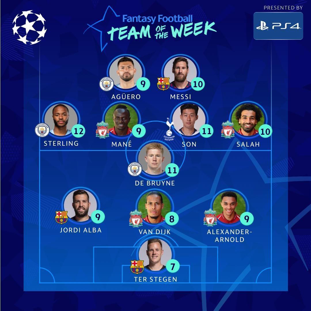 欧足联再惹争议!欧冠最佳阵容被淘汰队3人入选 奇迹之队无人上榜