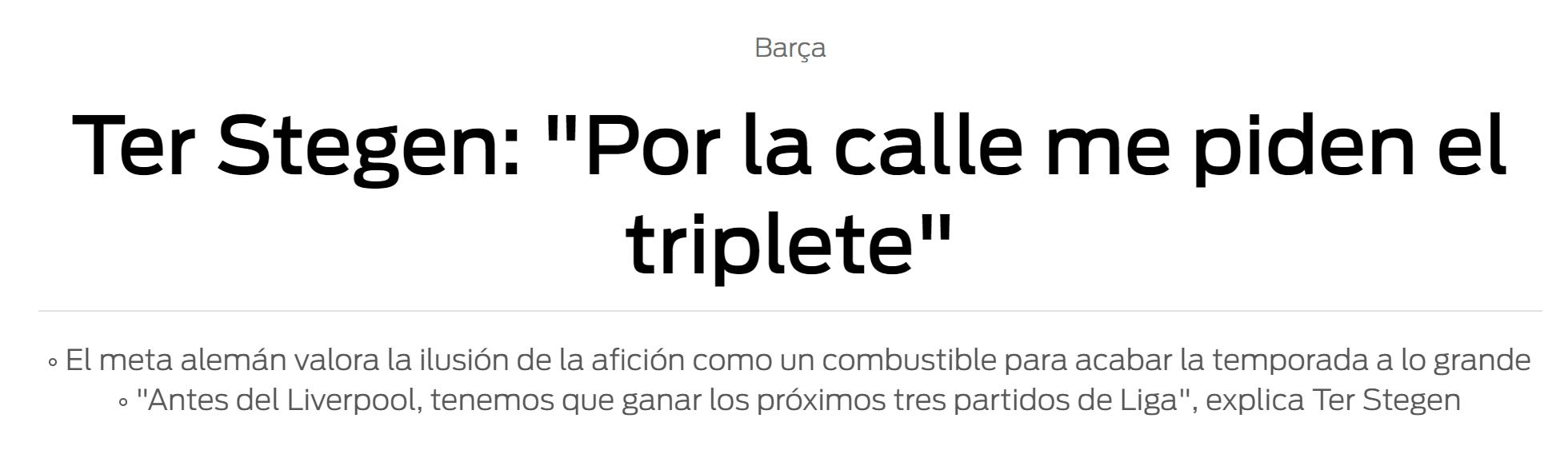 特狮:不会加盟西班牙人,那是一支没欧冠踢