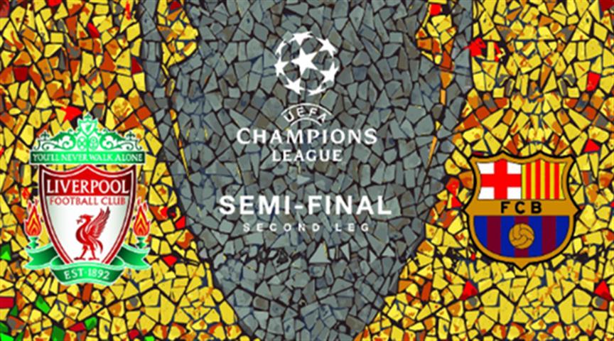 欧冠:利物浦VS巴萨