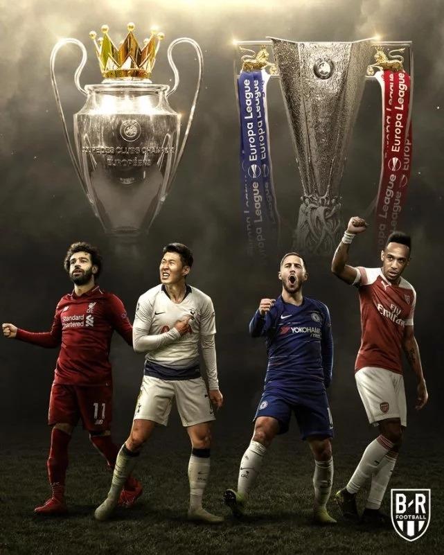 英超Big6!两支在欧冠决赛 两支在欧联
