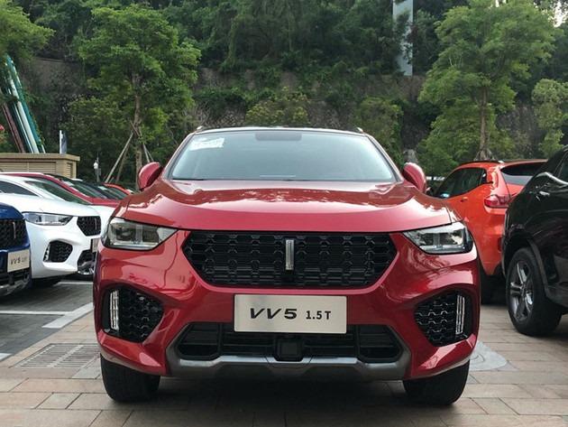 WEY VV5 1.5T车型将今晚上市 或将进一步拉低售价