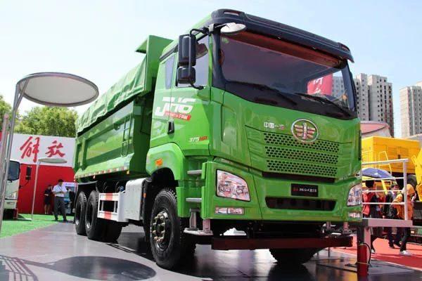 揭秘国六新车型,解放JH6 6X4渣土车图解   卡车之友网