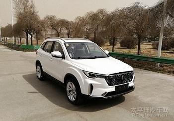 奔腾T33申报图 X40改款车型/前脸酷似T77