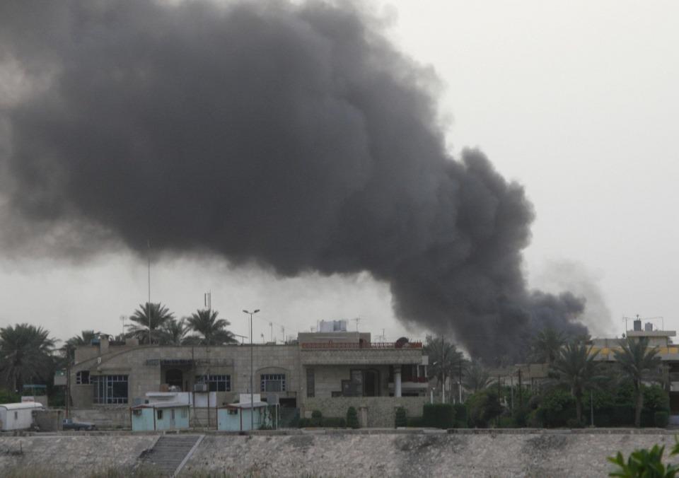 突發!美駐伊大使館遇襲,一枚火箭彈落地爆炸,特朗普已表態