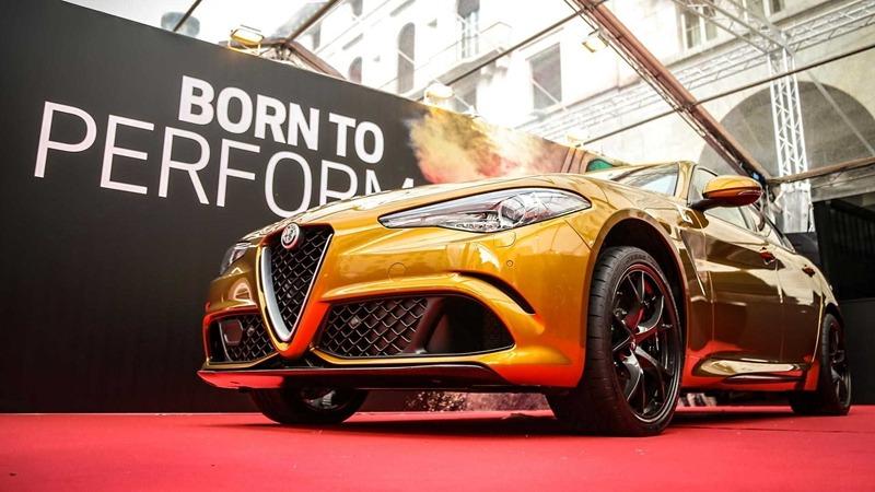 阿尔法罗密欧Giulia推出复古漆面车型