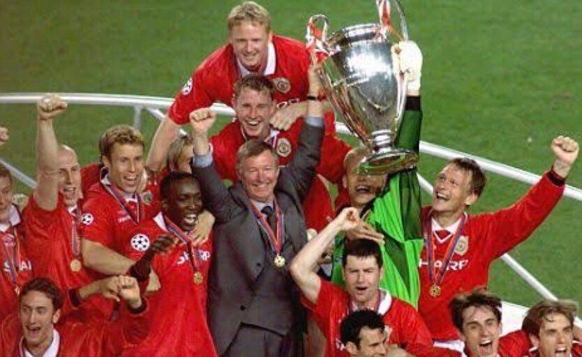 20年前的今天欧冠决赛曼联2比1逆转绝杀