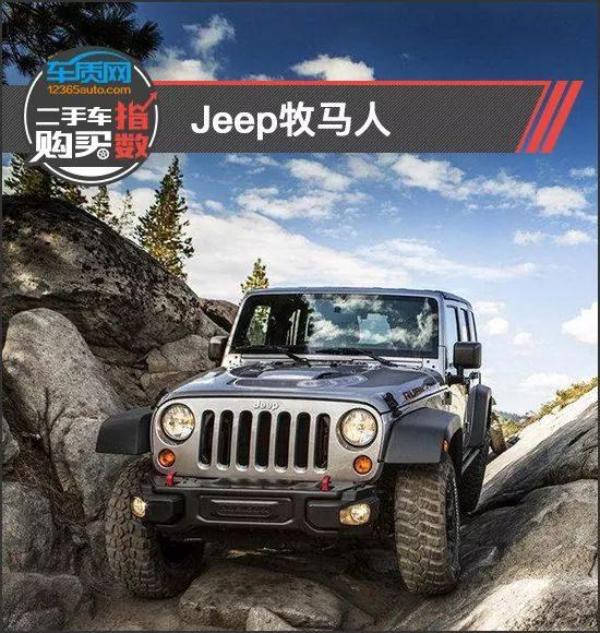 二手车购买指数:Jeep牧马人