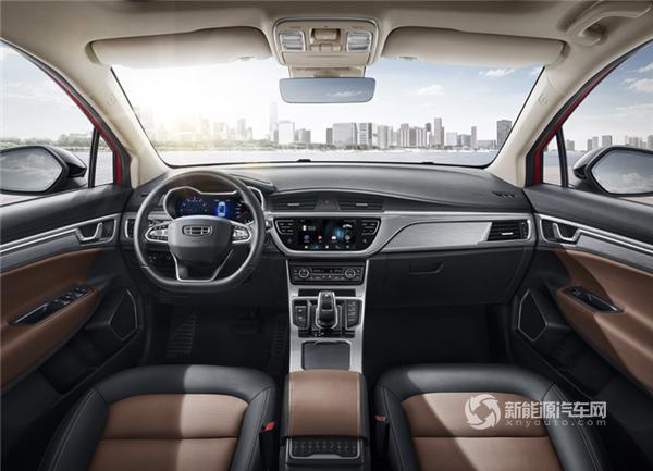 国六标准新增1.5t车型 新款帝豪GS官图发布