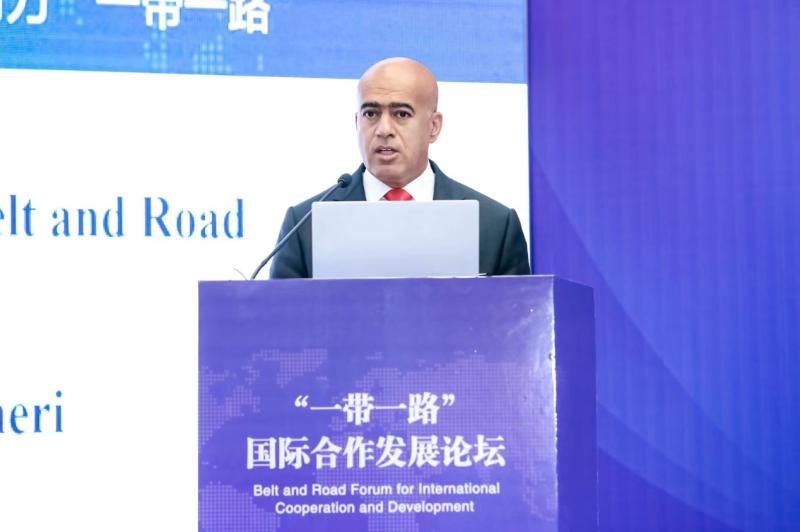 """""""一帶一路""""國際合作發展論壇在京舉行"""