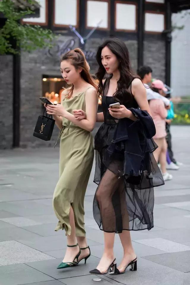 高跟鞋时尚搭配,让你看上去更加的有魅力
