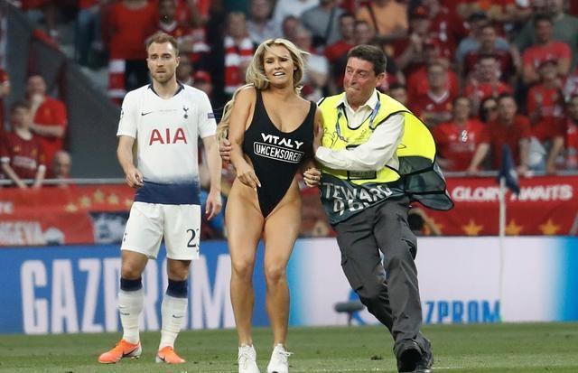 仅1.5万欧!闯欧冠决赛女球迷被罚款 她