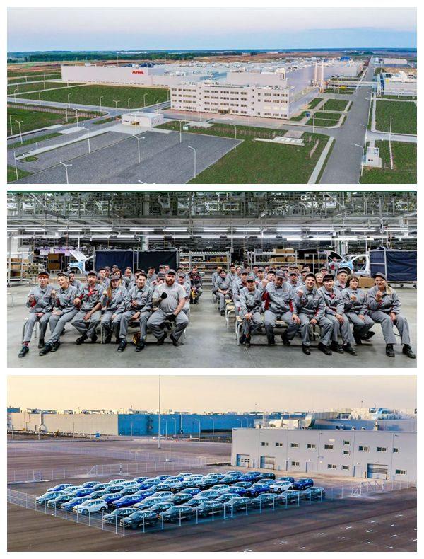 新闻  |  长城汽车俄罗斯工厂竣工 首款车型F7售价144.9万卢布  |  Y车评