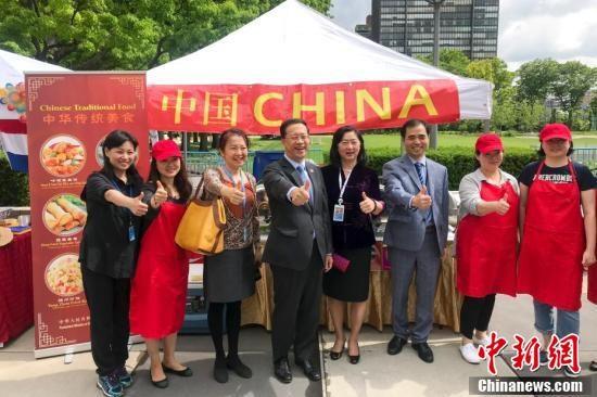 聯合國國際義賣活動 中國商品受青睞