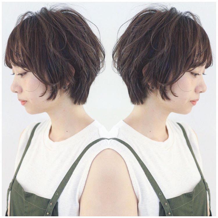 妈妈级的流行短发,简单时尚好打理,做潮妈就剪这样的短发