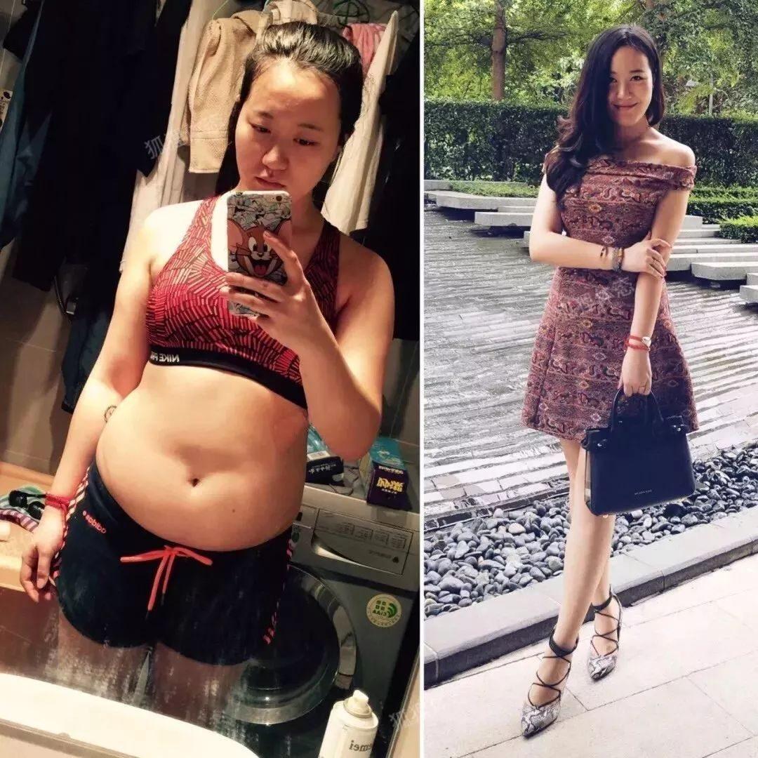 她,曾是145斤胖妞,2个月内狂瘦32斤!这套减肥