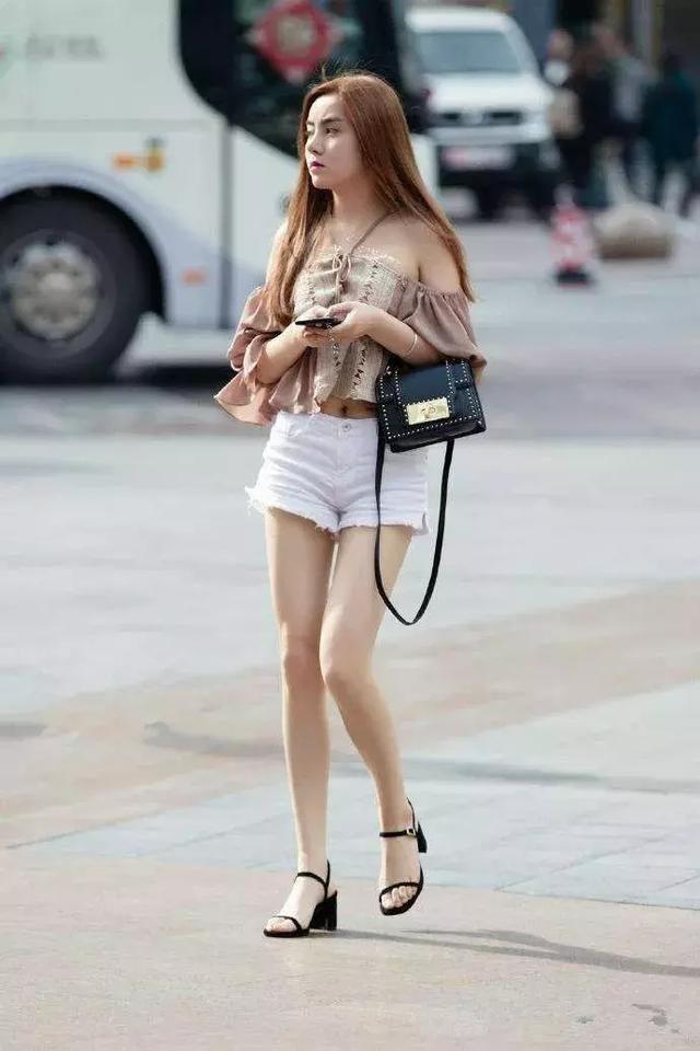 夏日高跟鞋時尚搭配,減齡顯瘦又清新