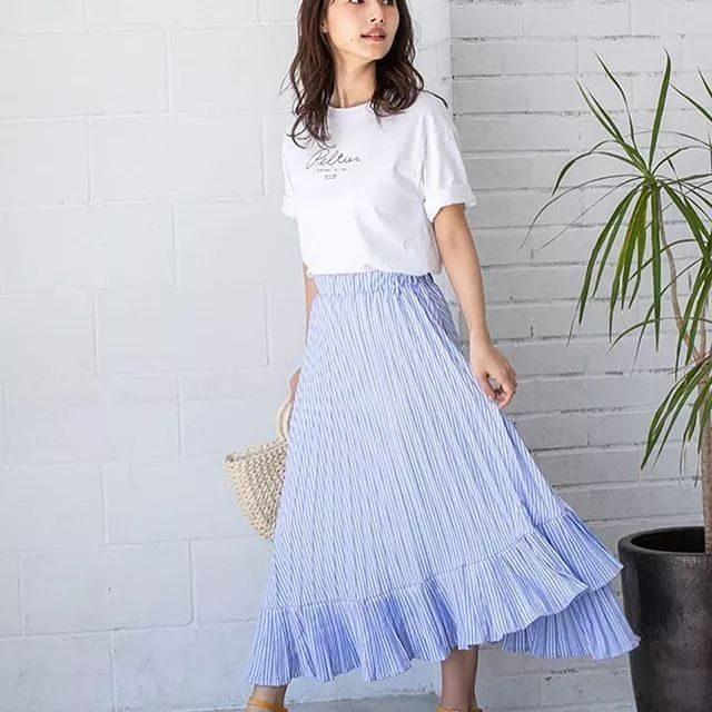 日系穿搭 | 轻松穿出清凉感的夏季搭配,时尚又好看!