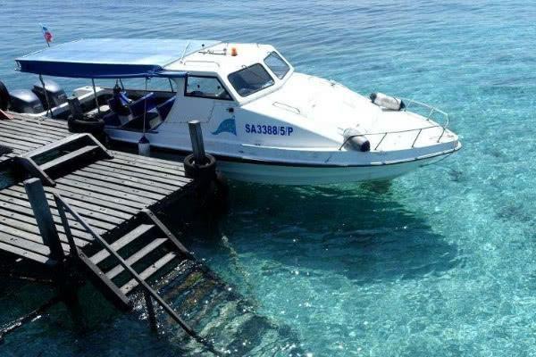 馬來漂浮海上的天堂,成為世界旅游勝地