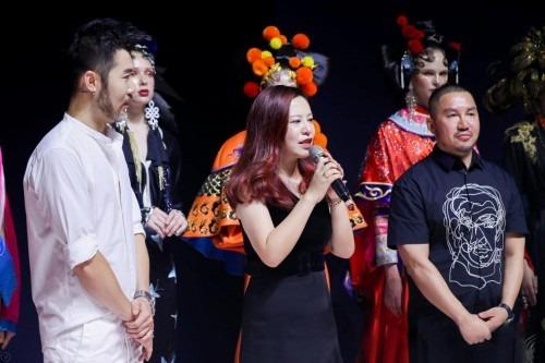 瑞尚创美化妆学校时尚秀亮相2019中国时尚美妆周