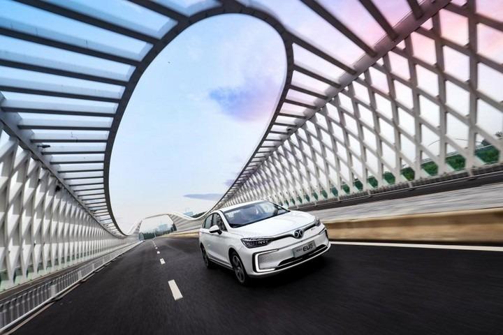 EU5加冕双料销冠王,中高端车型成北汽新能源销量支柱