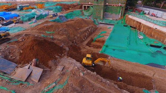 疑似丁寶楨墓考古發掘已開始