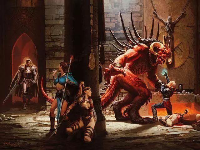 當年第一次玩《暗黑破壞神2》時,你選的是哪個人物?