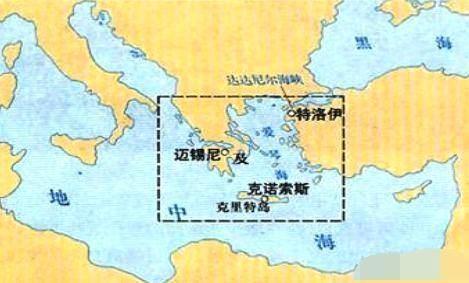 """從考古發現來看,""""愛琴海文明"""",古希臘羅馬文明是西方歷史的代表"""