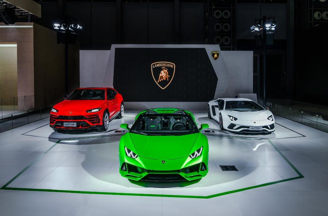 兰博基尼携全系车型 亮相2019深港澳国际车展