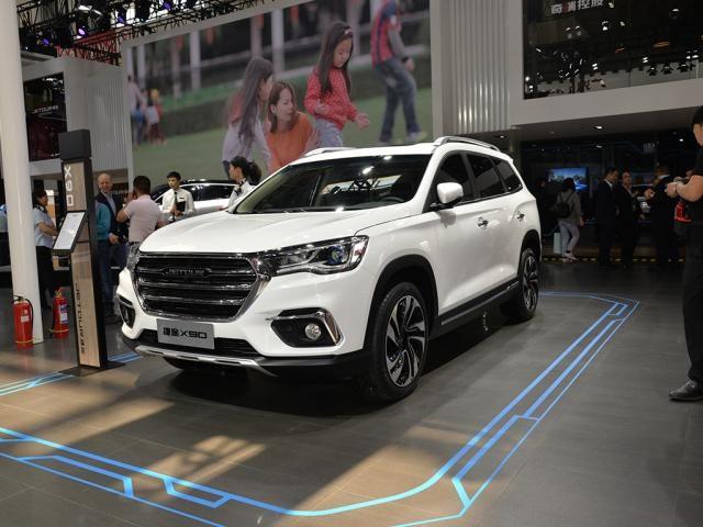 又宽又大,捷途X90国六版车型上市,售价9.89-12.99万