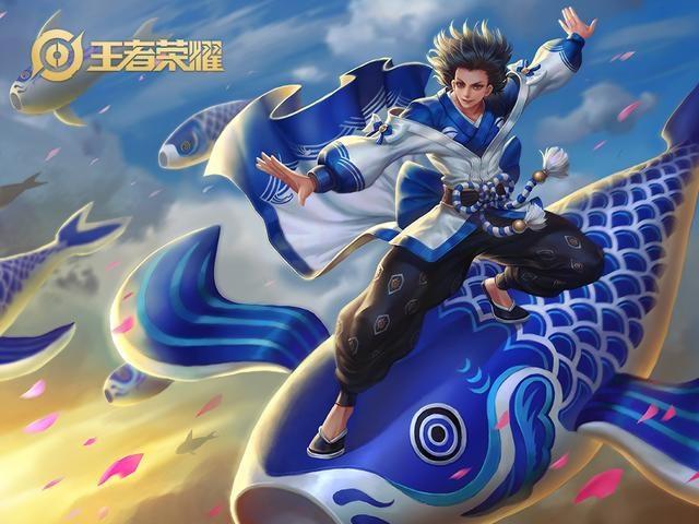 王者荣耀:英雄李信变身就会有皮肤,是BUG还是国服李信加成?
