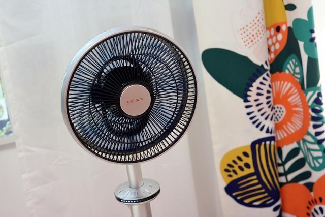 莱克智能空气调节扇,双遥控+360度旋转,带来真正自然风