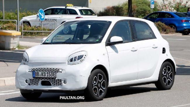 改款smart将亮相法兰克福车展 或将是最后一代由戴姆勒主导的车型